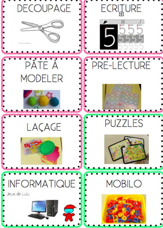 Atelier and organisation on pinterest - Poster avec plusieurs photos ...