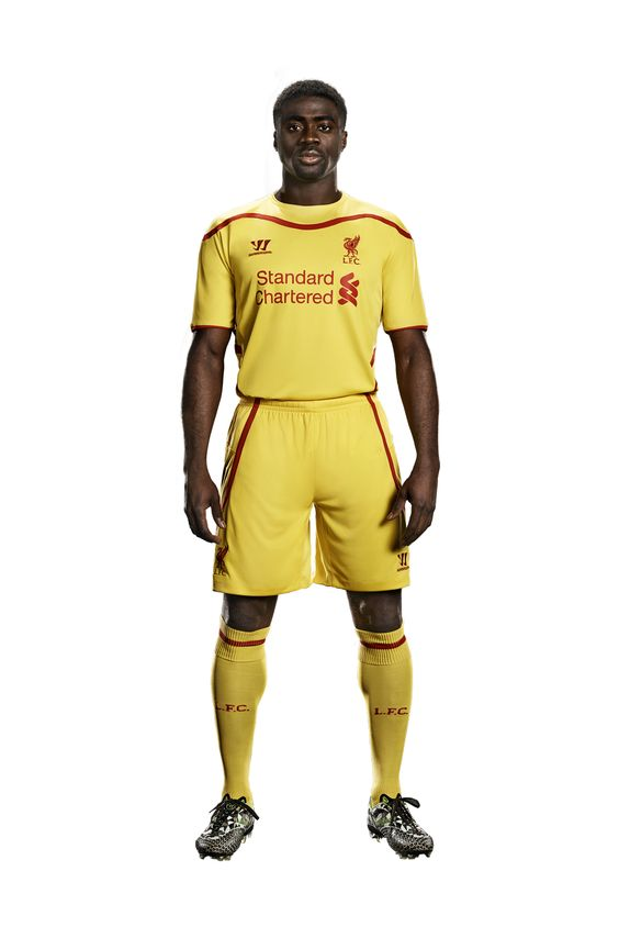LFC today revealed their brand new Warrior away kit for the 2014-15 season. Visit the club's official online store now to pre-order #DEMAND
