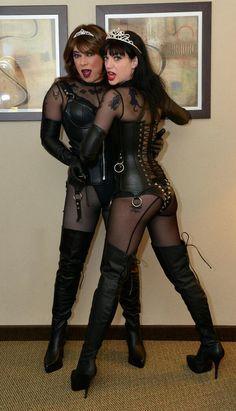 Transvestite with Mistress