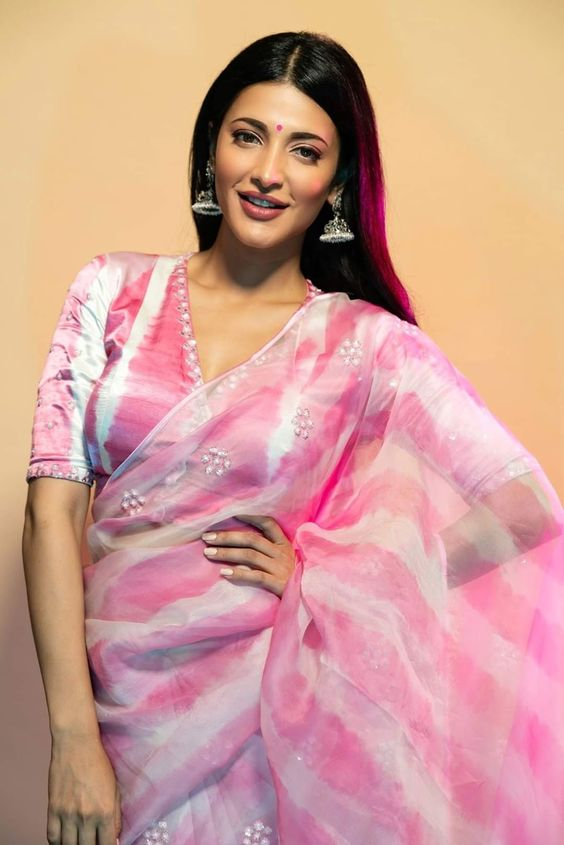 ShrutiHaasan, from the launch of her next Tollywood flick Krack
