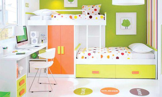Decoracion de cuartos para 2 ni os de 8 a 12 a os google - Abitaciones de bebes ...