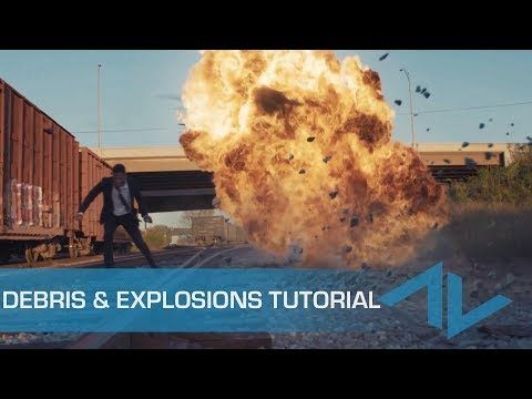 5 Steps To Composite Explosion Debris Vfx After Effects Tutorial Youtube After Effect Tutorial Explosion Motion Graphics