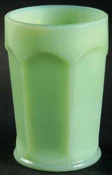Amazon.com: Martha Stewart By Mail Fenton Jadite Jadeite Jade-ite Faceted Tumbler: Home & Kitchen: It Jadeite Green Milkglass, Jadite Kitchenware, Jadite Glassware, Jadeite Dish