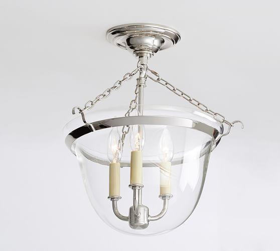 Hundi Semi Flushmount Bath Light Fixtures Bathroom Light