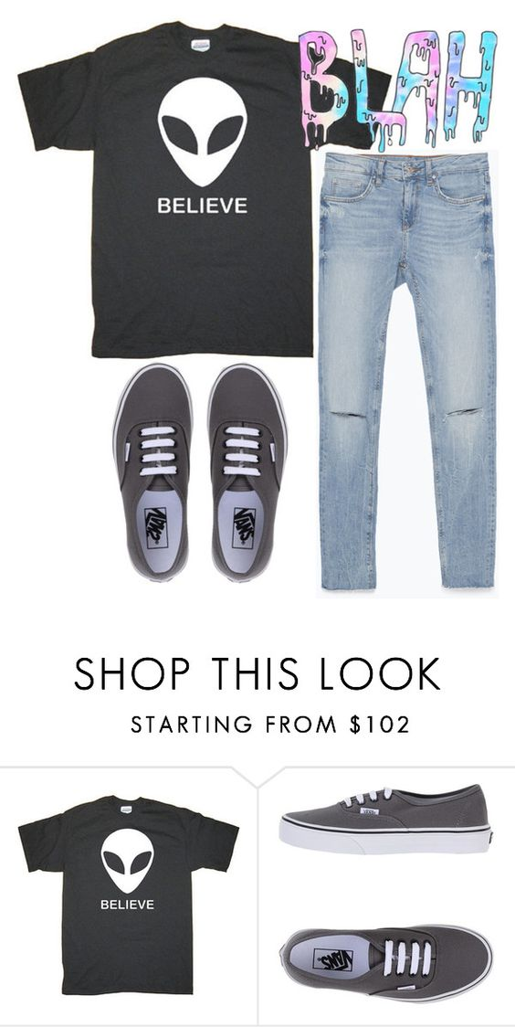 """hey"" by alessandragaetano ❤ liked on Polyvore featuring Vans, Zara, women's clothing, women, female, woman, misses and juniors"