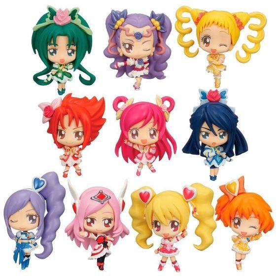 New Deformaster Petit Precure All Stars Ver.cure (BOX) Bandai japan import :318