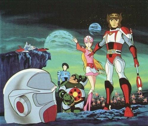 Pic El Galactico Starzinger Hoshi No Senshi Anime Old Cartoons Cartoons 70s 80s