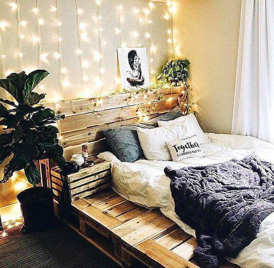 55 Best Diy Pallet Bedroom Design Ideas Pallet Platform Bed
