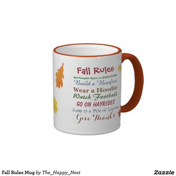 Fall Rules Mug