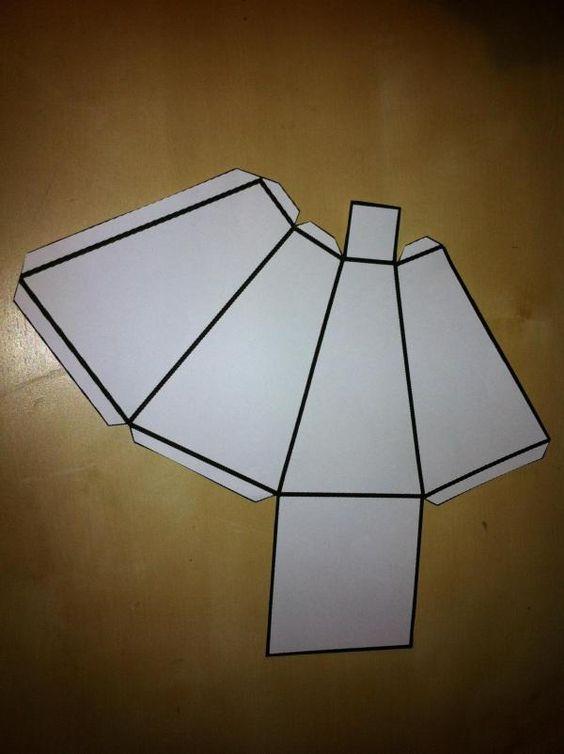 Como Fazer Uma Piramide Truncada Com Base Quadrada Com Imagens