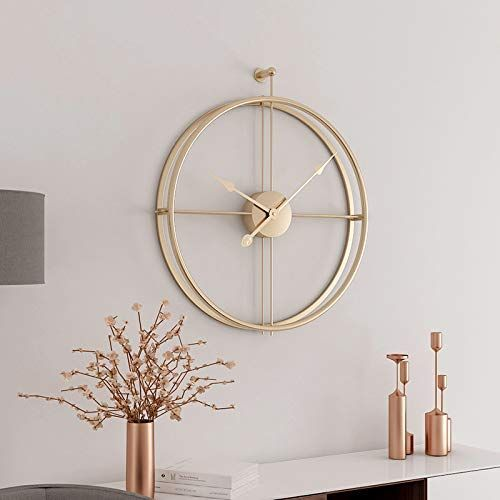 Aero Snail Gold European Minimalism Simple Creative Metal Wall Clock Fashion Modern Living Room Clo Minimalist Wall Clocks Living Room Clocks Wall Clock Modern
