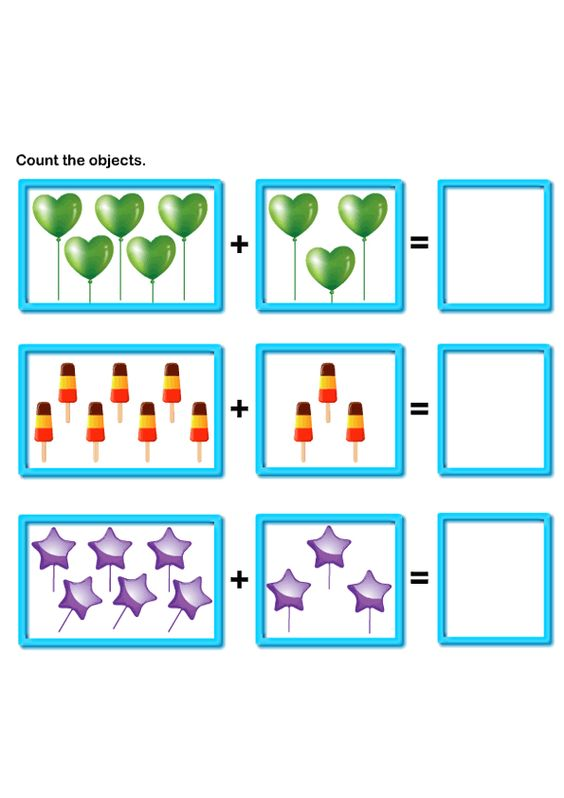 math worksheet : picture addition worksheets learn to add math worksheets free  : Add Math Worksheets