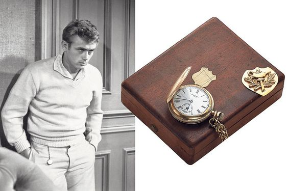 James Deans pocket watch. Sold for $260,000 at Hong Kong auction June 2013