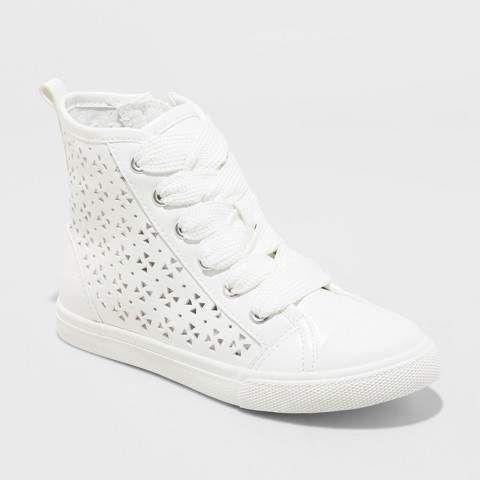 Top Sneakers - Cat \u0026 Jack White