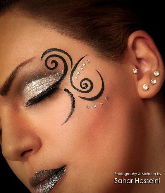 fantasy makeup @Diana Avery Avery Avery OpdenDries