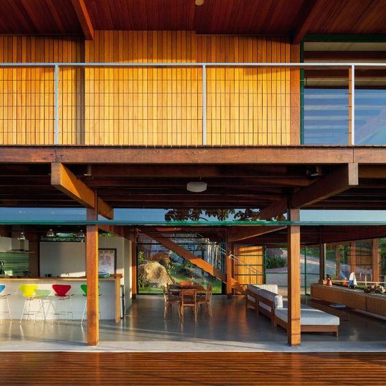 Fábrica na Mooca e casa suspensa em blocos de pedra estão entre arquiteturas premiadas - Casa e Decoração - UOL Mulher