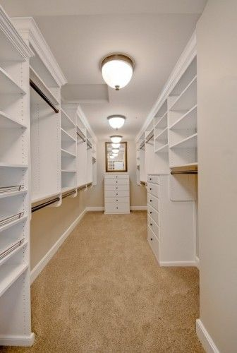 Walk in closet - yum!