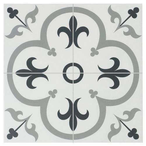 Florentina Gray Ceramic Tile In 2020 Decorative Tile Ceramic Floor Tiles Tiles