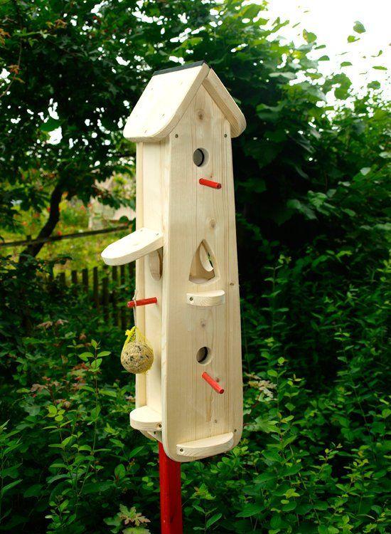 Vogelhaus Futterhaus Zum Selber Bemalen Vogelhaus Vogelvilla Bird House Bird House Kits Bird Houses