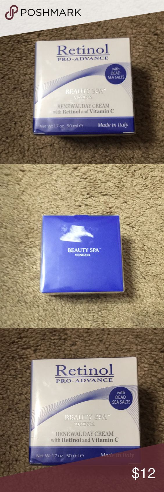 New Beauty Spa Venezia Retinol Renewal Day Cream New Beauty Spa Venezia Retinol Pro Advance Renewal Day Cream With Vitamin C Net Weight Retinol Beauty Spa Spa