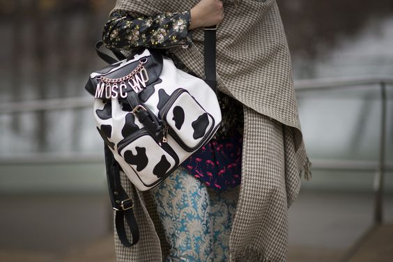 moschino packback streetstyle monday inspiration post