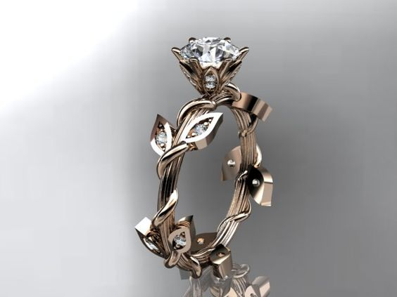 I hate to post wedding type things on pinterest, but I'm obsessed with this ring. I think I'll marry myself just to have it.