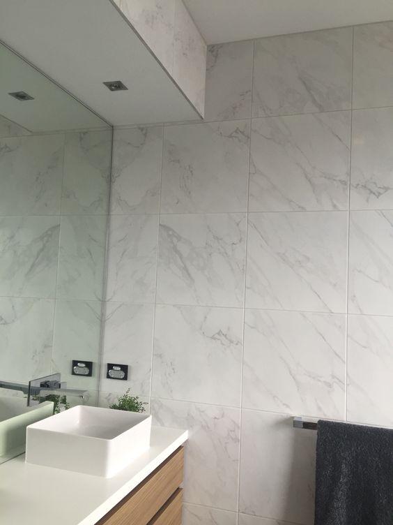 Upstairs bathroom tiles