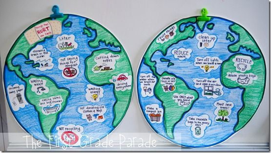 First Grade Parade: Earth Day, Telling Time,: