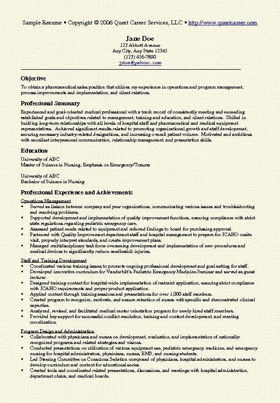 ... Pharmaceutical Sales Resume Sample pharmacy tech Pinterest - resume for pharmaceutical  sales ...
