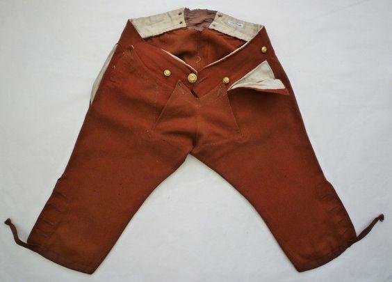 1750-tal, byxor. Breeches.