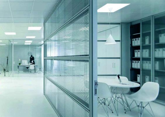 Mamparas de oficina Futura, Montadesk - 04