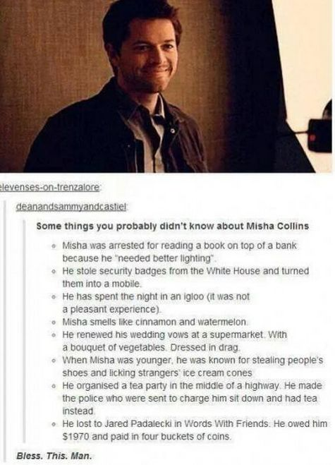 Misha Collins Resume  Misha Collins Resume