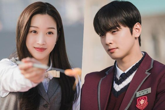 "Moon Ga Young And Cha Eun Woo Enjoy A Private Picnic In ""True Beauty"""