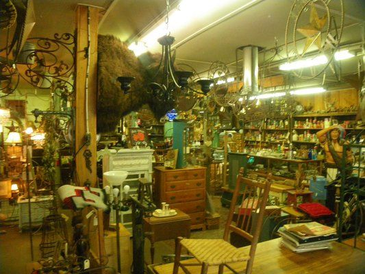 iron horse second hand store - eddie's place has the most amazing collection of 'stuff and more' around - bend oregon