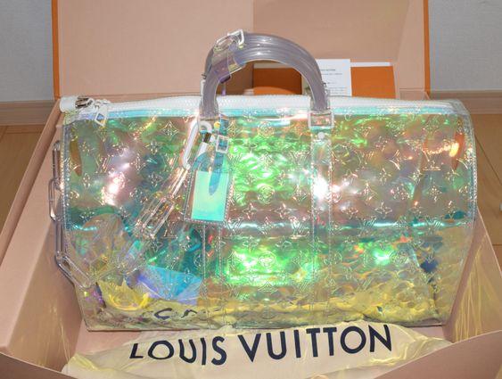 Louis Vuitton Keepall 50 Virgil Abloh Prism 19ss Boston Bag M53271 Art Japan Export Louis Vuitton Keepall 50 Louis Vuitton Keepall Louis Vuitton