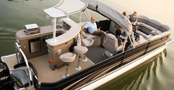 Ryan and mine's dream boat......i love it!!!! Premier Pontoons | Grand Entertainer