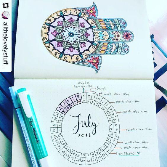 Calendar Wheel Bullet Journal : Pinterest the world s catalog of ideas