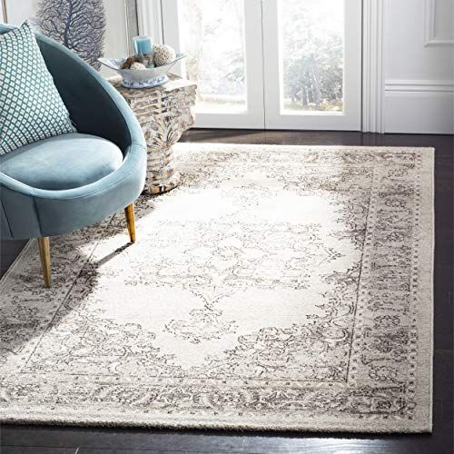 Safavieh Carmel Collection Car272b Vintage Oriental Beige And Brown Area Rug 4 X 6 Brown Area Rugs Classic Rugs Rugs