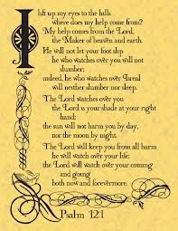 PSALM 121 - favorite chapter!