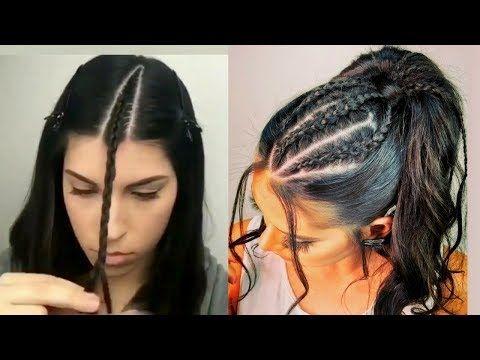 Peinados Faciles 2018 Peinados Con Trenzas Peinados De Fiesta Cabello Corto Cabello Lar Peinados Con Trenzas Peinados Pelo Corto Trenzas Para Cabello Corto