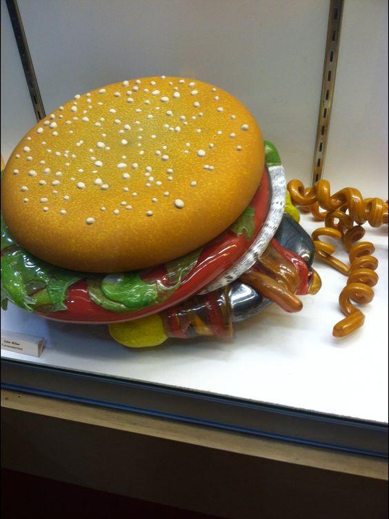 Glass burger