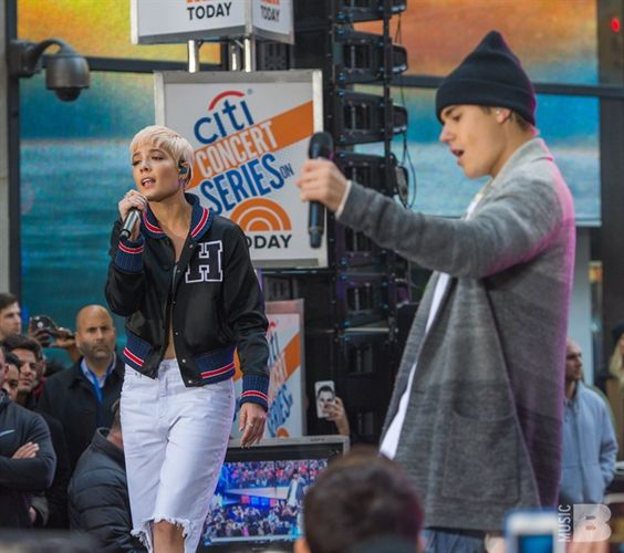 Justin Bieber on TODAY