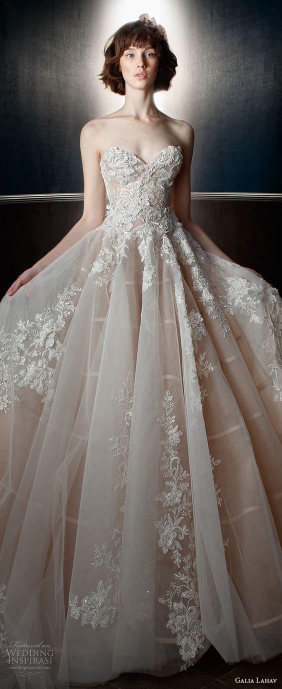 "Galia Lahav Spring 2018 Wedding Dresses — ""Victorian Affinity"" Bridal Collection"