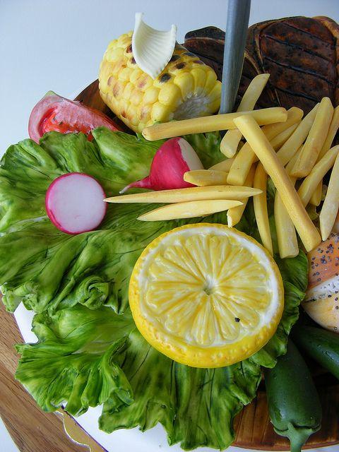 Steak with vegetales cake | Flickr - Photo Sharing!