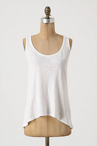 naturally, the moment i find a great white tank top, anthropologie is suddenly sold out of it in my size.