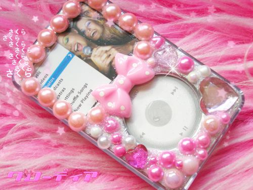 Kawaii Heart Jewel Deco iPod Case pic. 1 (via ❁Mochi-Chan❁ (。◕‿‿◕。))