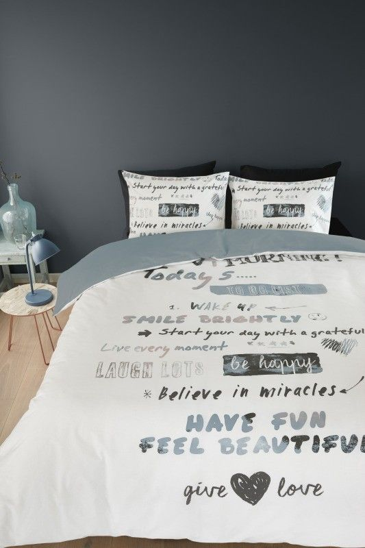 Bedding Good Morning for your bedroom. Made in Netherlands.