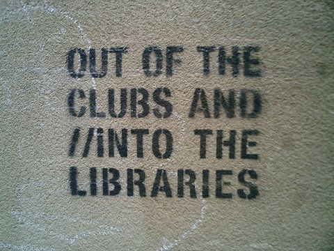 Out of the clubs and into the libraries