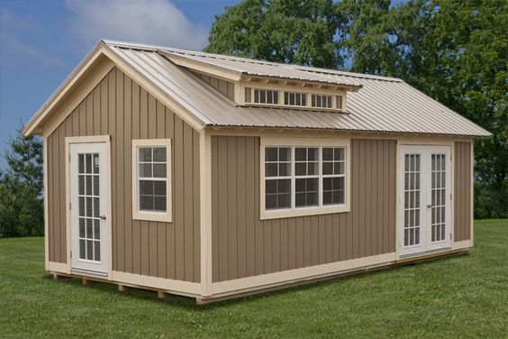 Small Portable Garages : Storage sheds and buildings on pinterest