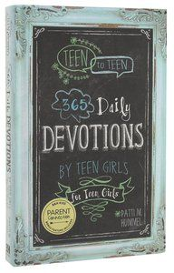 Have removed Teen girl devotional book this